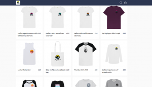 T-shirts for sale online by sligo surf experience