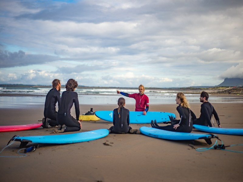 Top 3 Best Places to Surf in County Sligo