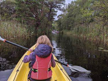 Kayaking Lough Gill1