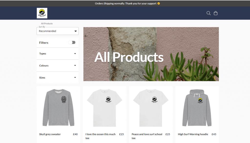 Sligo Surf Experience launch online store and clothing range