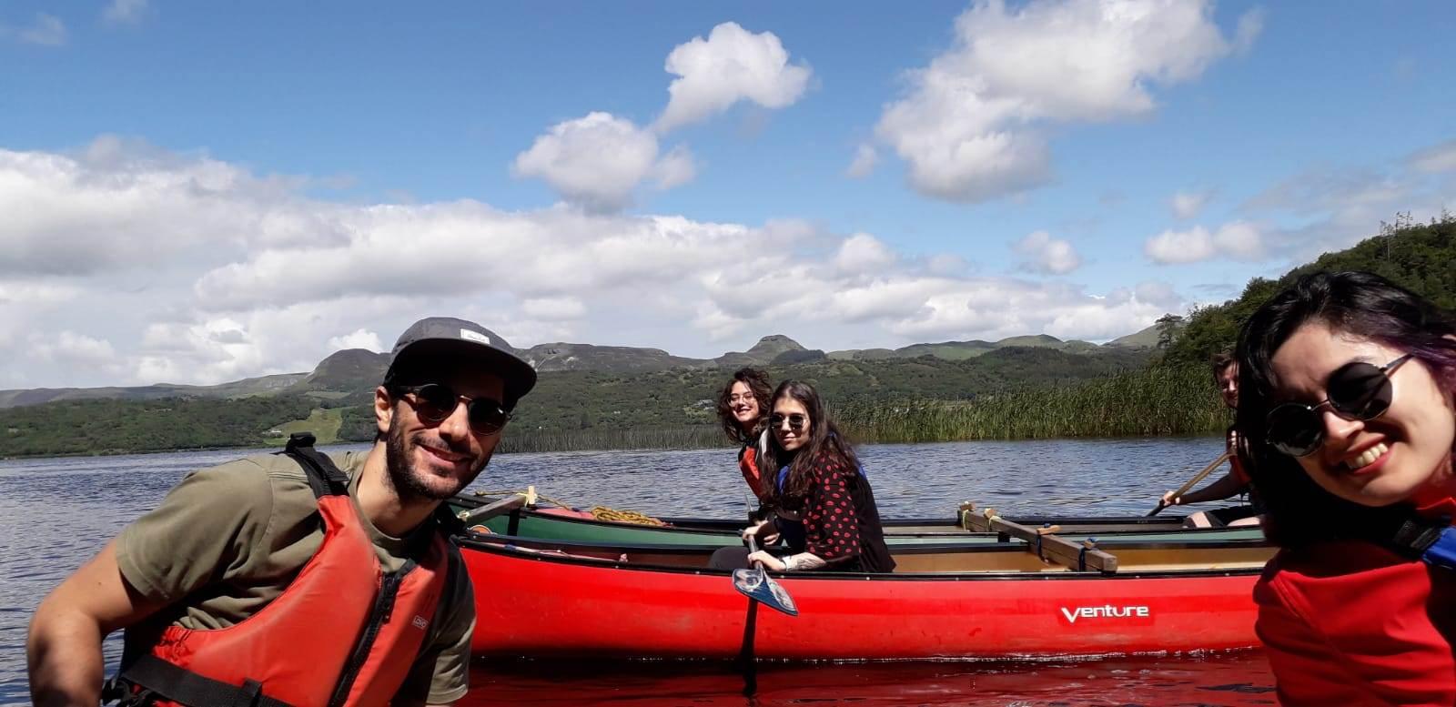 Canoeing in Leitrim