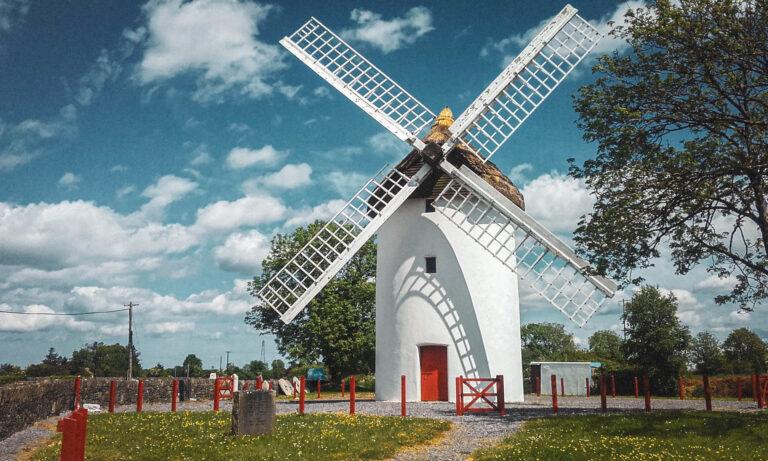 Elphin Windmill courtesy https://elphinwindmill.ie/